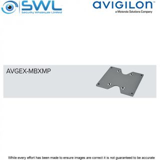 AVGEX-MBXMP: Adapter Plate For Communication Box to AVGEX-MPXCOL or AVGEX-MPXCW