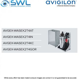 Avigilon AVGEX-WASEX2T4IN: INMETRO Cert- 10L Water Tank, Manual Pump 24VAC/VDC