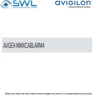 Avigilon AVGEX-MMXCABLARM4:Replacement 4m Armoured Cable For H5EX Compact Bullet