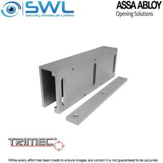 Trimec LEMGDB600: Glass Door Brackets For Standard Z8 Locks