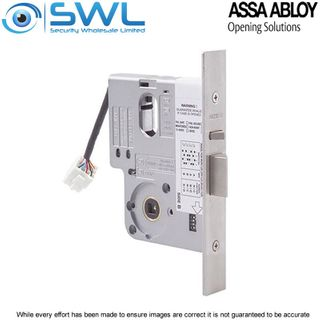 Lockwood L3570ELN0SC:12-24VDC 60mm Electric Mortice Lock (Primary) NONMON NO CYL