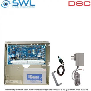 DSC Neo HS2064 Base Kit: Plug Pack, Battery & Tamper Only - Add Keypad