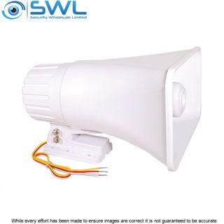 Rural Blaster: Dual Tone External Siren12VDC, 1A, 30W, 122dB
