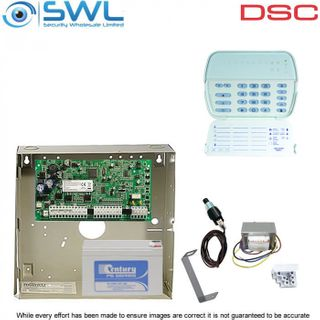 DSC PowerSeries PC1616, TX & PK5508 Kit: Cabinet, TX, Tamper, Battery & PK5508
