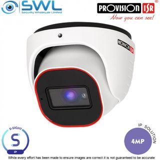 Provision-ISR DI-340IPS-28 S-Sight-2: 4Mp Gimble DWDR IR20m IP67 2.8mm