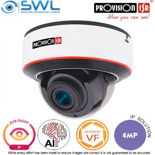 Provision-ISR DAI-340IPE-MVF Eye-Sight-2: 4Mp Dome WDR IR40m IP67 IK10 2.8-12mm