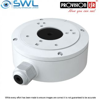 Provision-ISR PR-JB12IP66: IP66 Junction Box For I4 Bullet, Fixed Turrets & Dome