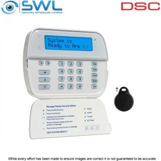 DSC IMPASSA/ PowerSeries: WT5500 LCD WIRE-FREE 433MHz Keypad