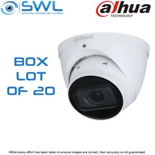 20 x Dahua IPC-HDW2431T-ZS-S2: 4Mp STARLIGHT Eyeball -S2- WDR IR40m IP67 2.7-13.