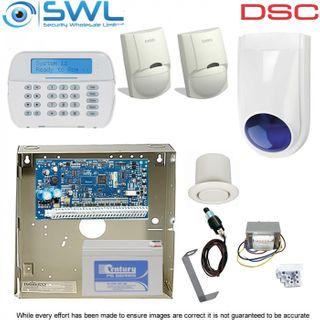 DSC Neo HS2016 Base Kit: Transformer,Tamper, HS2LCDPSN KP, 2x Sirens 2x LC100