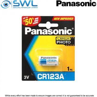 CR123A Panasonic Lithium Battery