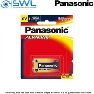 9 VOLT 1 Pack Panasonic Alkaline