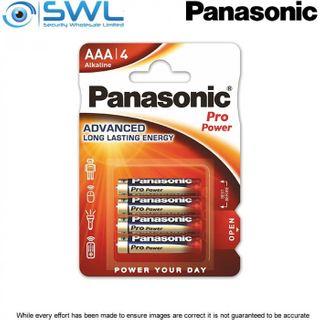 AAA 4 Pack Panasonic Alkaline