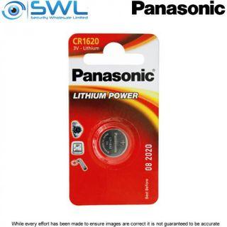 3V 1 Pack Panasonic Lithium Battery 1620