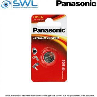 3V 1 Pack Panasonic Lithium Battery 1632