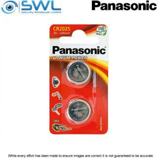 3V 2 Pack Panasonic Lithium Battery 2025