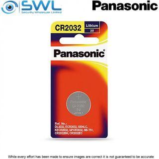 3V 1 Pack Panasonic Lithium Battery 2032