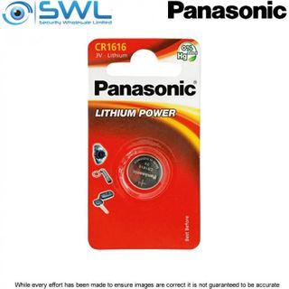 3V 1 Pack Panasonic Lithium Battery 1616