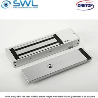 ONETOP EM5700 DSS: Single Door S/Mount Electromagnetic Lock 12/24VDC 550Kg