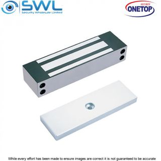 ONETOP EM5000S: Weather Res' Stainless Steel Maglock, Side Mount - 680Kg
