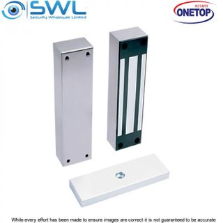 ONETOP EM5000F: Weather Res'  Stainless Body Face Mount Electromagnetic Gate