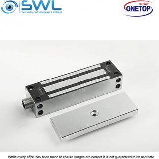 ONETOP EM5000G: Weather Res' Stainless Body Face/Side Mount Electromag Gatelock