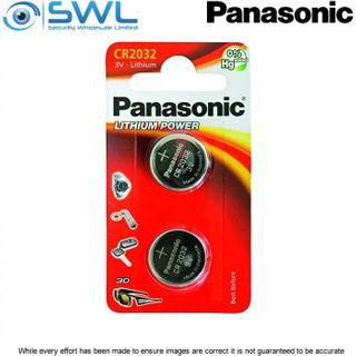 3V 2 Pack Panasonic Lithium Battery 2032