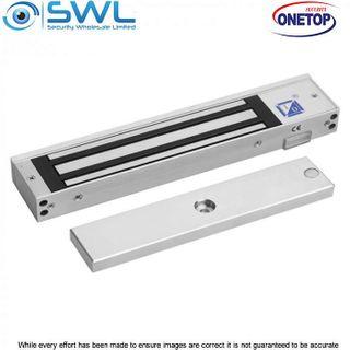 ONETOP EM3500 DSS: Single Door S/Mount Electromagnectic Lock 12/24VDC 250Kg