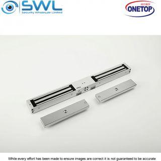 ONETOP EM3500D DSS: Double Door S/Mount Electromagnetic Lock 12/24VDC 280Kg