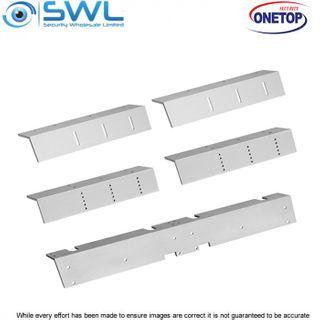 ONETOP L&Z 5700D DSS: Double Door Mag L&Z Bracket for In-swing Door Install