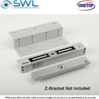 ONETOP MEM2400-60: Mechanical Electromagnetic Lock (LED) 12-24VDC, 680kg