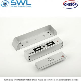 ONETOP MEM2400-LP: Mechanical Electromagnetic Lock (Light Panel) Plate Install