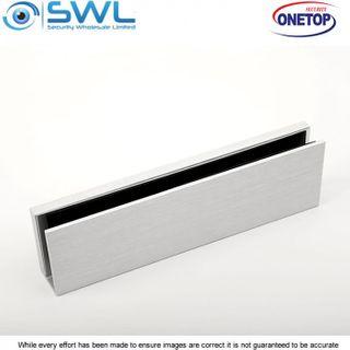 ONETOP UBG 12-24: 12mm Aluminium U Bracket for MEM2400 Armature Plate Glass