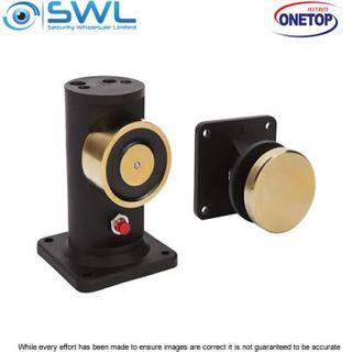 ONETOP R60-PCV-12: Extension Floor Mount Fire Door Holder 60kg 12VDC