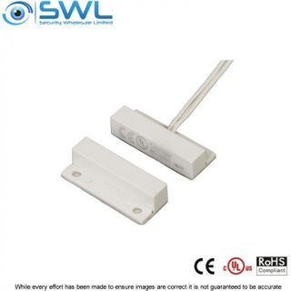 "SWL Mini Surface Reed Switch with Flange (BS-2021) Lx 33.5mm 1"" Gap"