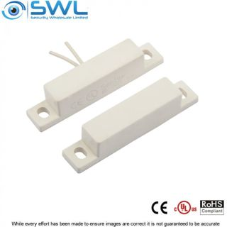 "SWL Surface Reed Contact (BS-2025) Lx 63mm 1 1/4"" Gap 18"" Leads"