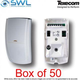 Texecom Premier Elite: AFD-0001 IR PIR Detector: 15m BOX of 50