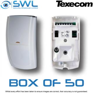 Texecom Premier Elite: AFD-0035 IR PIR Detector -15m. BOX of 50