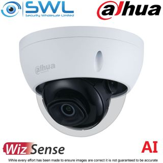 Dahua IPC-HDBW3841EP-S: 4K STARLIGHT Dome WDR IR30m IP67 IK10 2.8mm