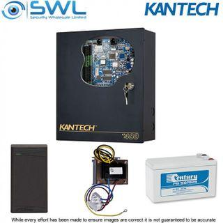 Kantech KT-400 BASE Door Kit: KT-400 PSU Battery IO Prox Reader