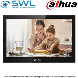 "Dahua DHI-VTH5341G-W: Android 10"" Digital Indoor Monitor - Black"
