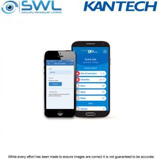 Kantech E-COR-PASS-50: Pack of 50 EntraPass GO PASS credentials for Corporate Ed