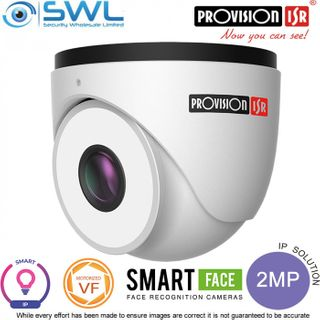 Provision ISR DW-320FR-MVF2 Smart Series 2Mp Face Rec WDR IR60m IP67 7-22mm