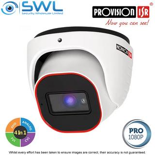 Provision-ISR DI-320A-28: Pro HD Series 2MP AHD (4 in 1) Turret IR20m IP67 2.8mm