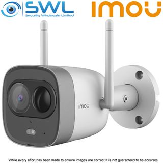 IMOU IPC-G26EP Bullet 2MP | H.265 | Night Vision | Active Deterrence | Two-way