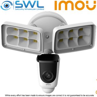 IMOU IPC-L26P Floodlight 2MP | 2 Floodlights | Active Deterrence | PIR | Two-way