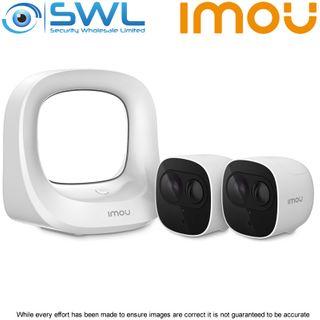 IMOU Cell Pro Kit, 1 x Base Station, 2 x Cell Pro WiFi Camera