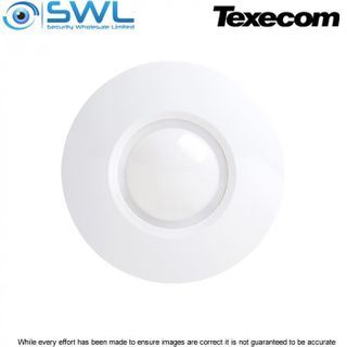 Texecom Capture CQ: AKF-0001 Wired Ceiling Mount Quad PIR - 9.3m