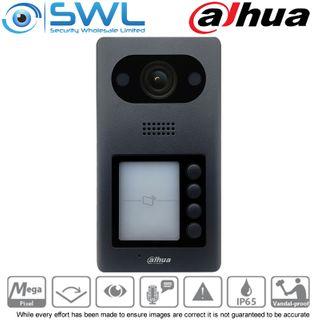 Dahua DHI-VTO3211D-P4-S2 Villa Outdoor Station 4 Button 2MP IP65 IK08