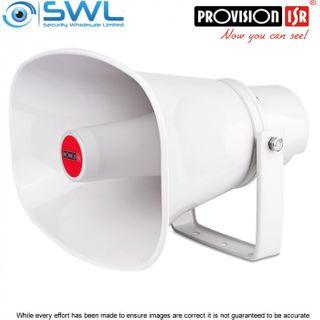 Provision-ISR PR-HS30W 30W 12V-24V  Horn Speaker, 3.5mm Stereo male